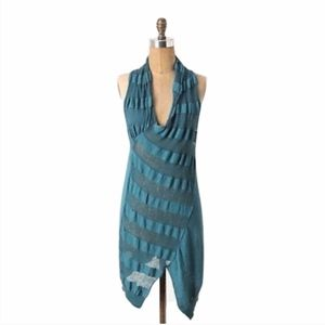 Sparrow Anthropologie Teal At Your Leisure Tunic